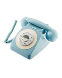 Reka Retro Corded Home Phone - Duck Egg
