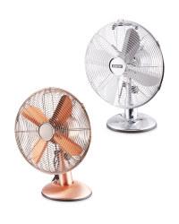 Kirkton House Retro Desk Fan