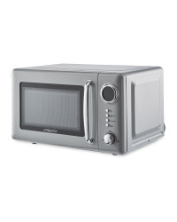 Ambiano Grey Retro Microwave