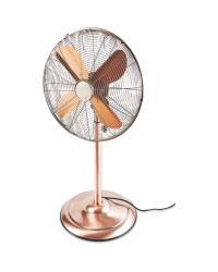 Kirkton House Retro Pedestal Fan - Copper