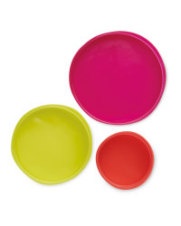 Reusable Red Stretch Lids 5 Pack