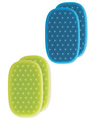 Reusable Silicone Sponges 2 Pack