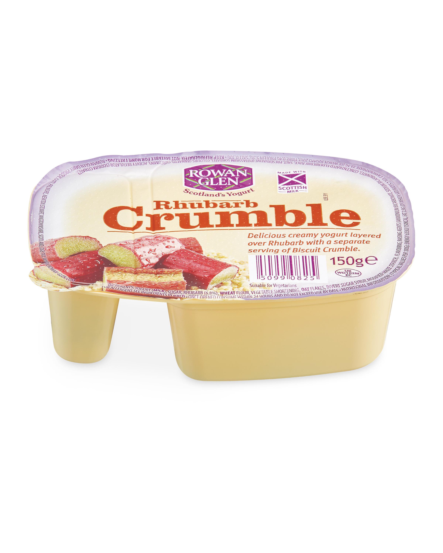 Rhubarb Crumble Yogurt
