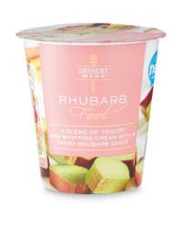 Rhubarb Fool Dessert