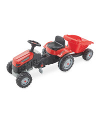 Little Town Ride-On Tractor