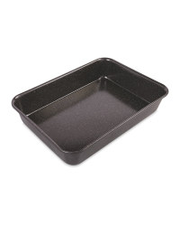 Kirkton House Large Roasting Tin - Black