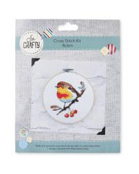 So Crafty Robin Cross Stitch Kit