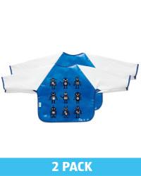 Robot Feeding Bibs 2 Pack