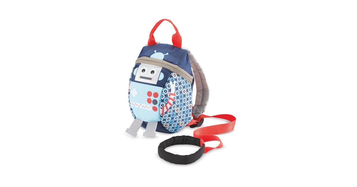 a83146d20499 Robot Toddler Reins Backpack - ALDI UK