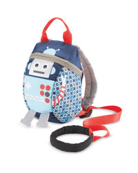 Robot Toddler Reins Backpack