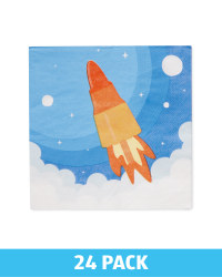 Rocket Napkins