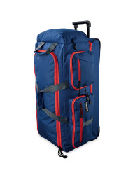 Roller Holdall - Navy / Red