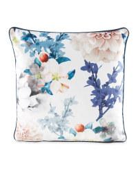 Romantic Style Floral Cushion