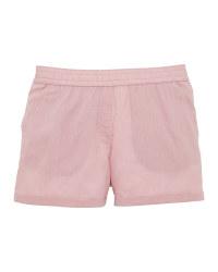 Ladies' Rose Linen/Cotton Shorts