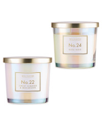 Rose Noir / Sweet Almond Candle Set