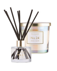Rose Noir Candle & Diffuser Set