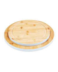 Round Grey Chopping Boards 2 Pack
