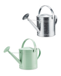 Round Metal Watering Can 10L