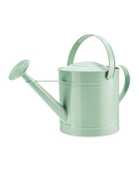 Round Metal Watering Can 10L - Green