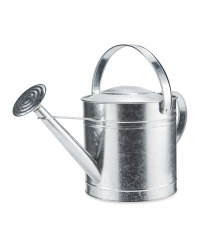 Round Metal Watering Can 10L - Zinc