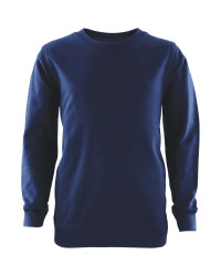 Lily & Dan Round Neck Sweater - Navy