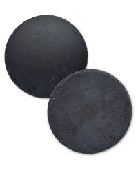 Round Slate Placemat and Coaster Set