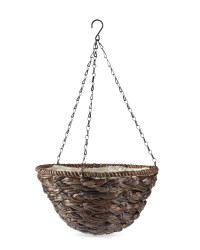 Gardenline Leaf Hanging Baskets - Brown
