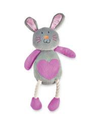 Ruby Rabbit Plush Dog Toy