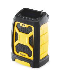 Rugged DAB & FM Radio with Bluetooth - Yellow