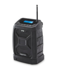 Rugged Dab & FM Radio - Black