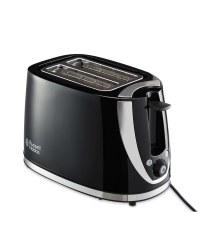 Russell Hobbs Black Mode Toaster