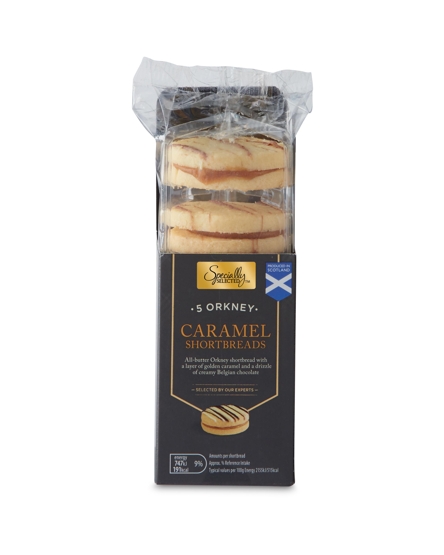 Orkney Caramel Shortbread