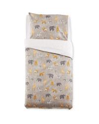 Safari Animals Single Duvet Set