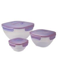 Salad Bowl Set - Lilac