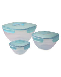 Salad Bowl Set - Turquoise