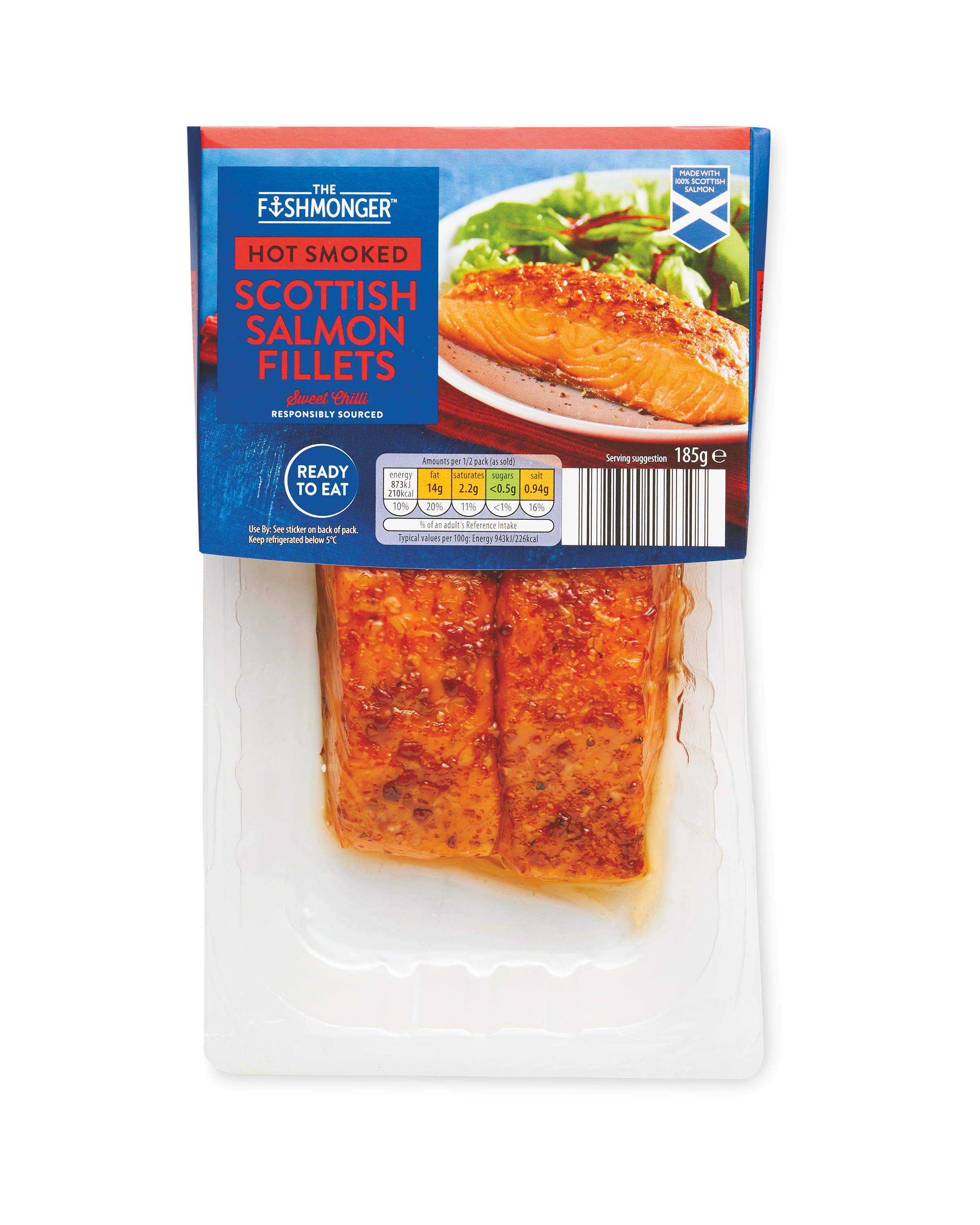 Salmon Fillets with Sweet Chilli