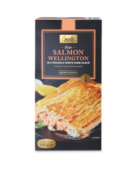 Prawn & White Wine Salmon Wellington
