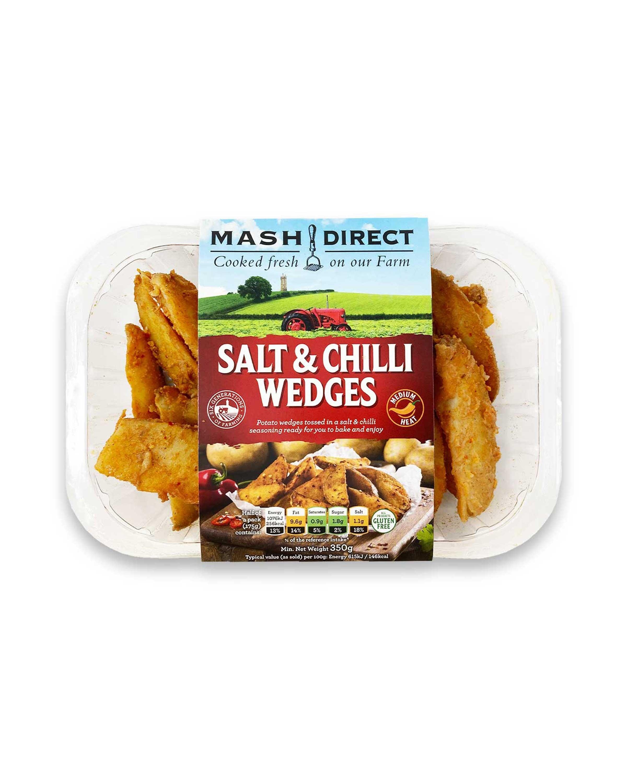 Salt & Chilli Wedges