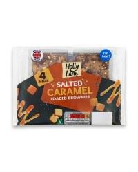Salted Caramel Loaded Brownies