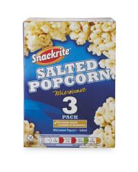 Salted Microwave Popcorn