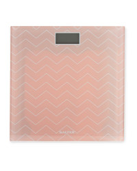 Salter Bathroom Scales - Pink Blush
