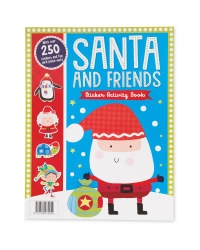 Santa And Friends Sticker Book