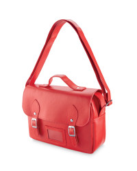 Satchel Lunch Bag - Red