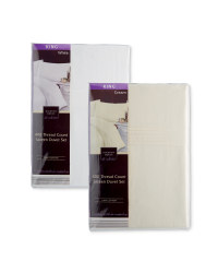 Sateen King Duvet Set
