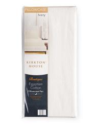 Kirkton House Sateen Pillowcase Pair - Ivory