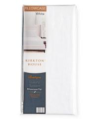 Kirkton House Sateen Pillowcase Pair - White