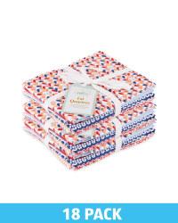 Scandi Fabric Fat Quarters 18 Pack
