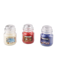 Scentcerity Blue Candle Gift Set