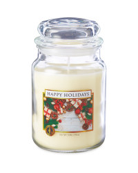 Scentcerity Happy Holidays Candle