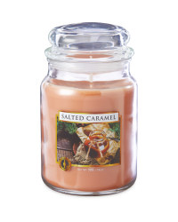 Scentcerity Salted Caramel Candle